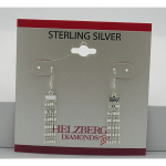 Liquidation Sterling Silver Beaded Tassel Dangle Earrings